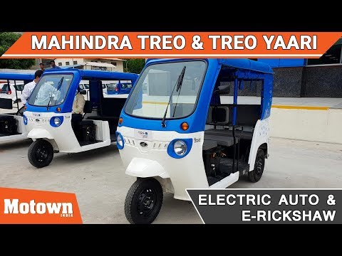 Mahindra Treo & Treo Yaari Electric Vehicles | Motown India