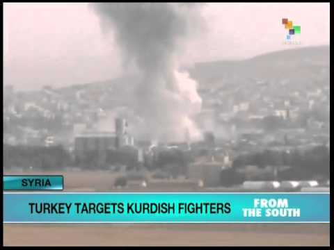 Turkey Bombs two Kurdish guerrilla bases