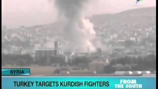 Turkey Bombs two Kurdish guerrilla bases