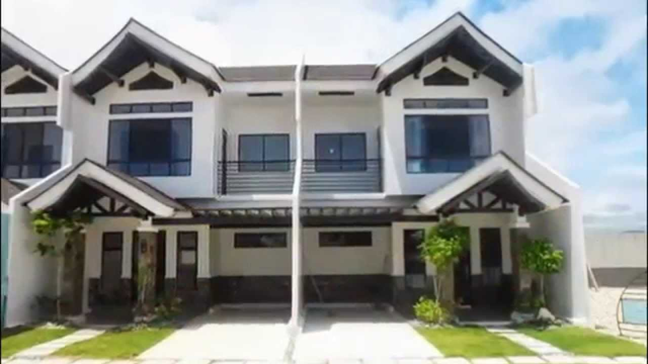 2 bedroom 90sq m 2 storey townhouse in argao cebu youtube for 3 bedroom townhouse plans 2 storey