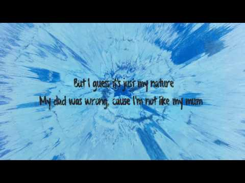 Thumbnail: Save Myself - Ed Sheeran Lyrics