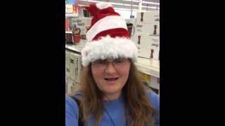 Dancing Santa Hat - (Dec. 2013)