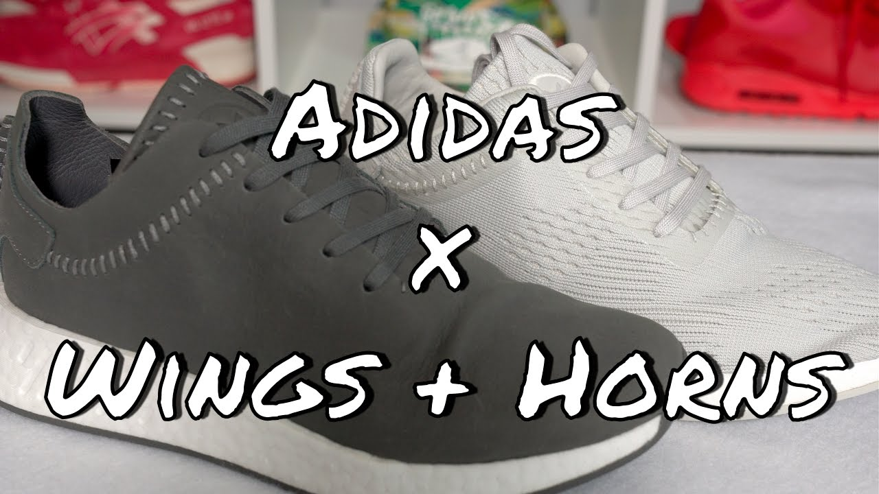 00fd7ad3d Adidas x Wings + Horns NMD R2 Pack - YouTube