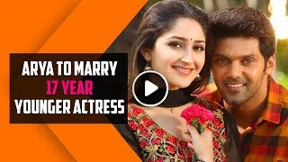 Arya to Marry 17 Year Younger Actress Sayeesha Saigal - Love Knows No Age | TBG Bridal Store