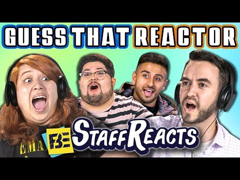 GUESS THAT REACTORS VOICE CHALLENGE #3 (ft. FBE STAFF)