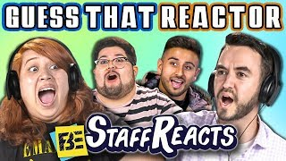 GUESS THAT REACTOR'S VOICE CHALLENGE #3 (ft. FBE STAFF)