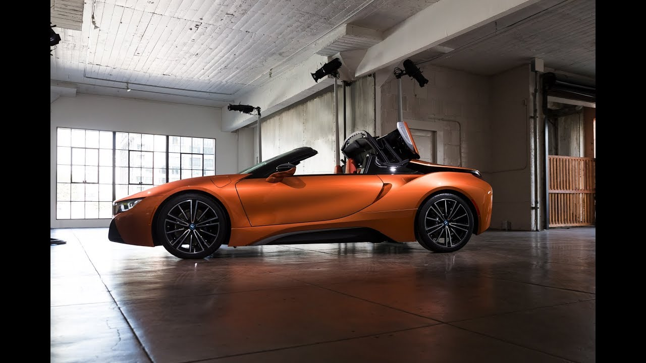 Bmw I8 Roadster Roof Opening Youtube