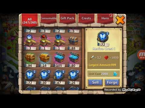 Castle Clash Opening Prime Hero Card 2 & Soulstone Bags