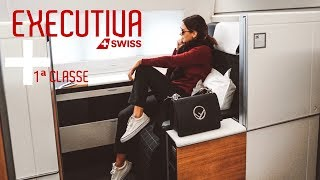 Tour na primeira classe + executiva | SWISS AIRLINES