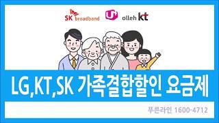 LG,SKT,KT가족결합할인 인터넷 요금제 6월 : L…