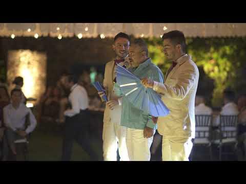 Discurso de Jorge Mejía en nuestra Boda Andrés y Diego | Gay Wedding