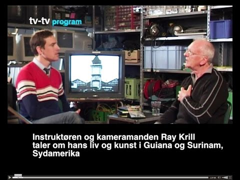 OM OM Danish TV Interview Ray Kril and Joachim Hamou 1993. The Terror and the Time