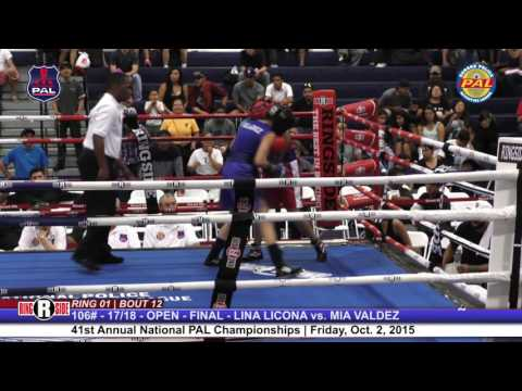 41st Nat. PAL Boxing Tournament | LINA LICONA vs. MIA VALDEZ