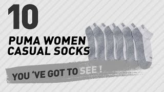 Puma Women Casual Socks, Top 10 Collection // New & Popular 2017