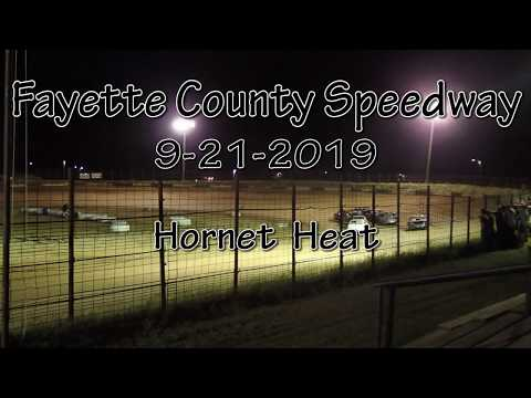 Fayette County Speedway Hornet Heat September 21 2019