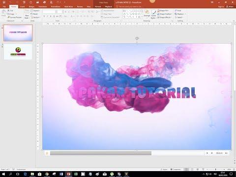 Cara Mudah Membuat Intro Pembuka Presentasi dengan PowerPoint