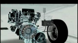 Mercedes-Benz BlueTEC Hybrid Animation