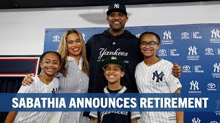 CC Sabathia announces retirement
