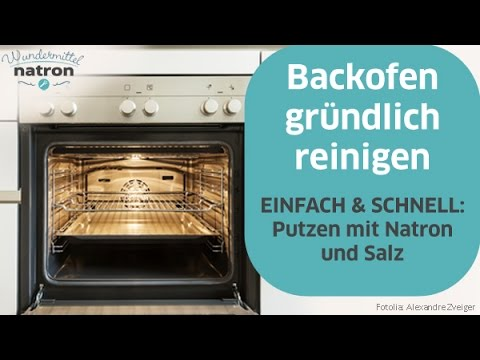 backofen reinigen schnell und einfach youtube. Black Bedroom Furniture Sets. Home Design Ideas