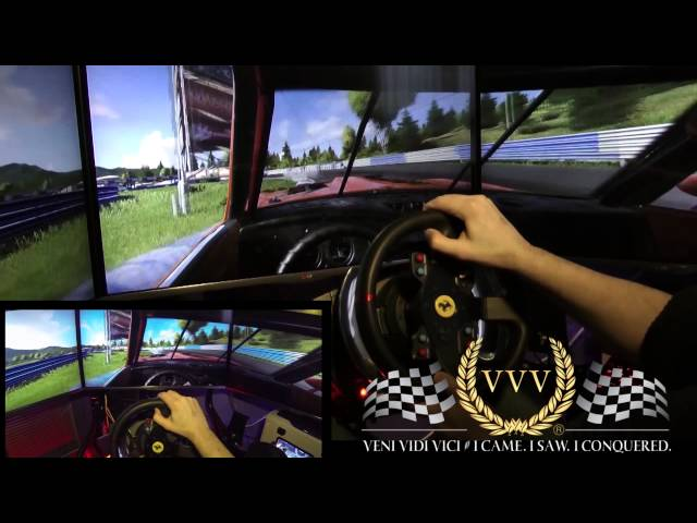 Next Car Game - Tarmac Circuit - PC Triple Screen