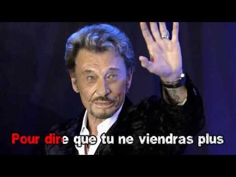 Karaoké Johnny Hallyday - Salut charlie (sans choeurs)