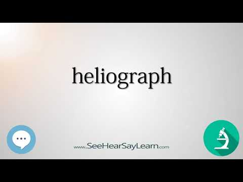 heliograph    Scientific Instrumentation 🔊