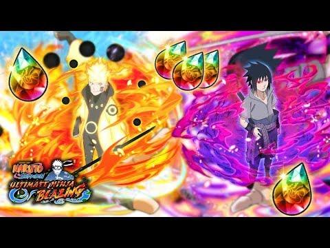RINNEGAN SASUKE OR SAGE OF SIX PATHS NARUTO? WHO ARE YOU GOING FOR! | Naruto Blazing | Global |