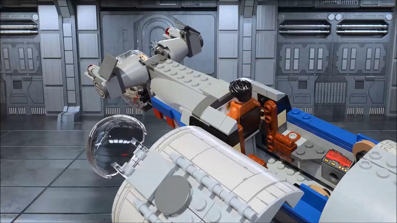 LEGO Star Wars 75188 Küchen-Spielzeugsets Resistance Bomber Bildungs- & Schulbedarf
