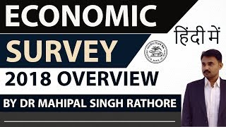 Economic Survey 2018 in HINDI - Current Affairs 2018 - Complete analysis of economic survey 2017-18