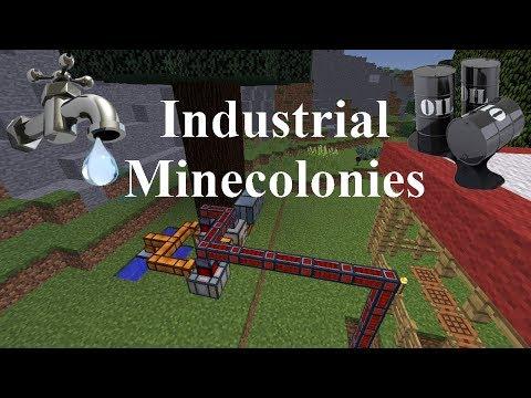 Industrial Minecolonies 1.11.2 Episode 2 - Tree Power!