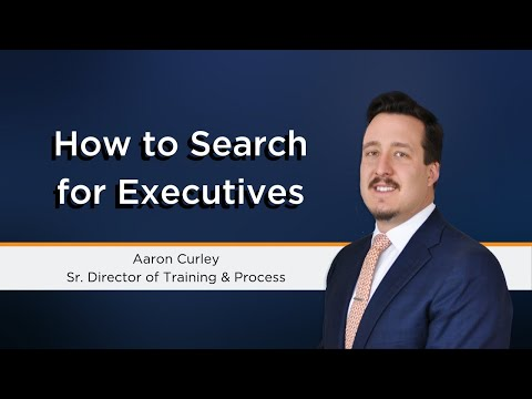 How To Perform Executive Search | Top Talent Recruitment