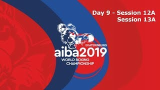 AIBA Men's World Boxing Championships 2019 Ekaterinburg. Day 9. Ring A