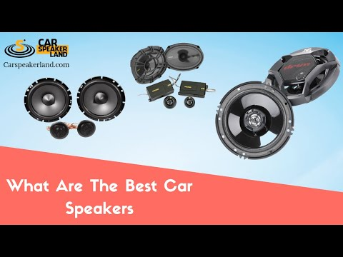 Top best car speakers reviews - Magazine cover