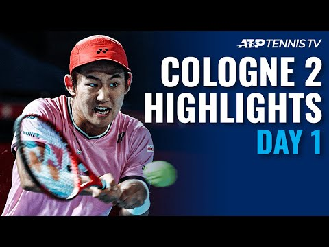 Köln II 2020 highlights day 1 | Johnson Shocks Cilic; Nishioka & Simon Register Wins
