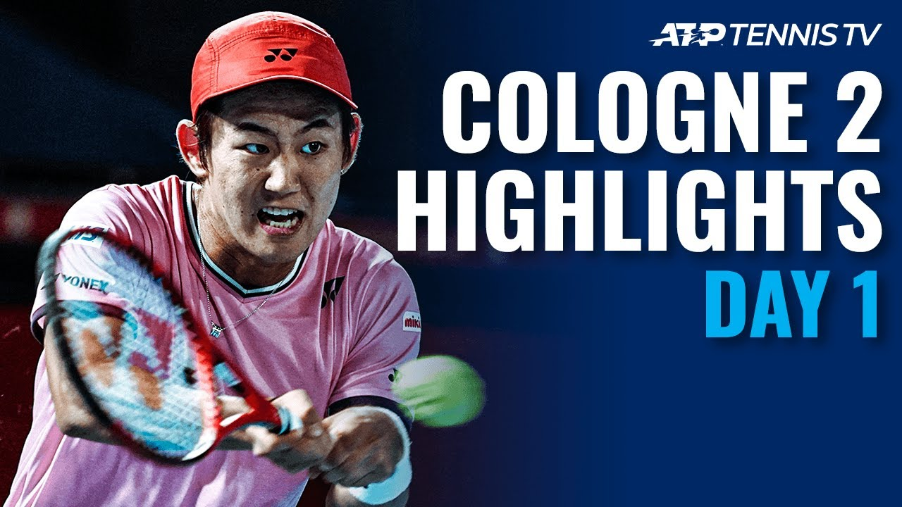 Johnson Shocks Cilic; Nishioka & Simon Register Wins | Cologne 2 2020 Highlights Day 1