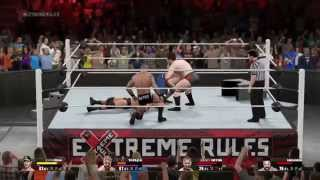 WWE 2K15 PC 650 Ti Boost 2GB Gameplay