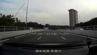 lornie road red light