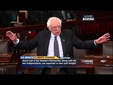 Bernie Sanders: Jim Inhofe is Dead Wrong (3/10/2014)