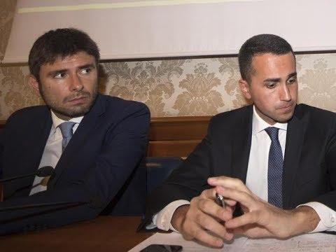 Di Battista, Di Maio sorpreso dall'incursione ma innervosito dall'aggressivita' di Marcucci (PD)