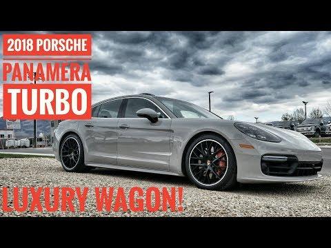2018 Porsche Panamera Turbo 550HP Wow! Luxury Wagon