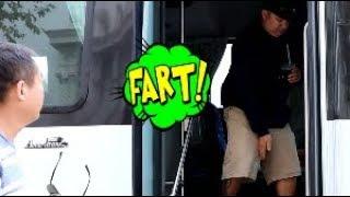 Funny Wet Fart Prank The Sharter   I'm Your New Driver   Shartweek Episode 3