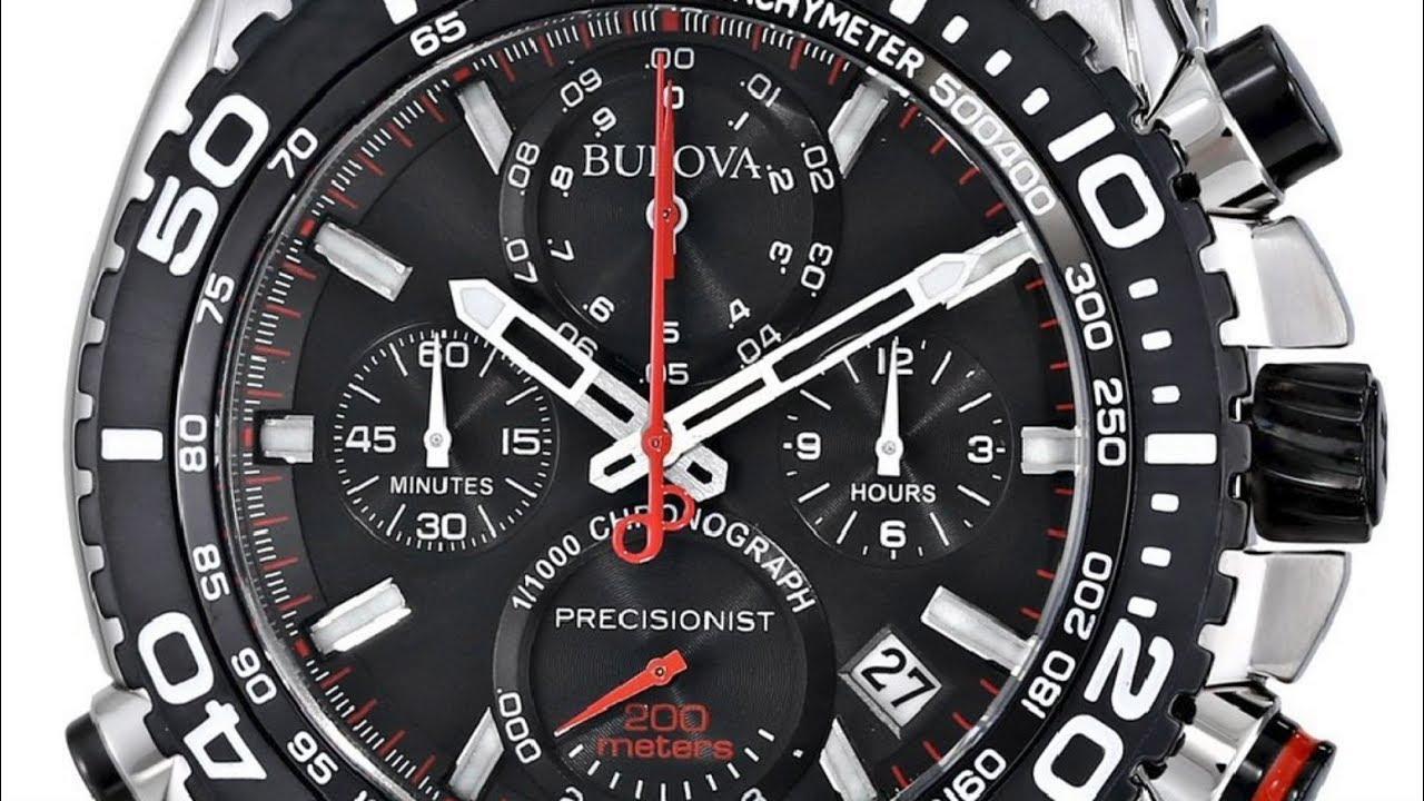 Bulova Men\'s Precisionist 98B212 - YouTube