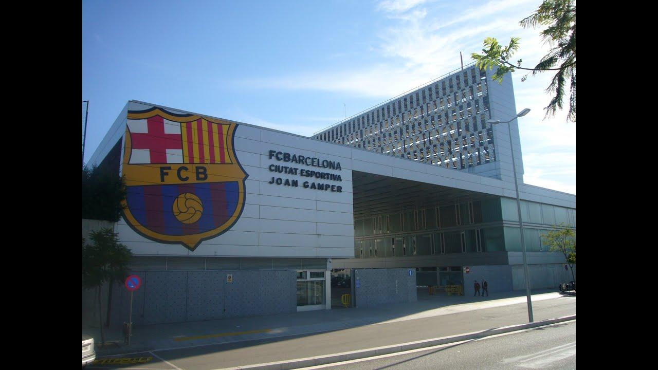 Ciudad deportiva del fc barcelona joan gamper youtube for Puerta 8 ciudad deportiva