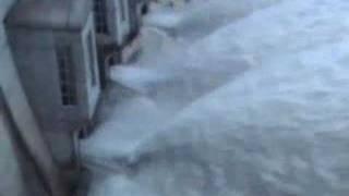 Hochwasserentlastung Schiffenensee (FR), Schweiz