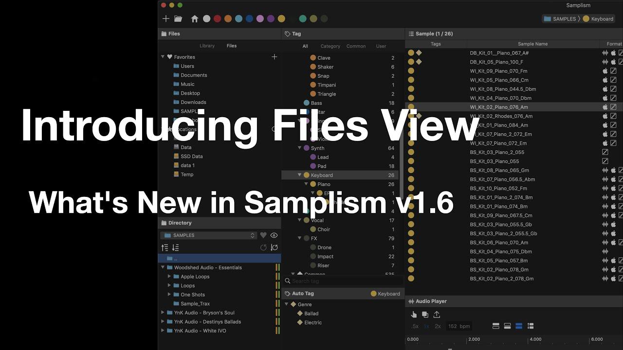 Samplism – Audio Helper Project