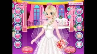 Frozen Wedding Makeup (Холодное сердце: приготовление к свадьбе Эльзы)