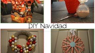 DIY   Navidad: Coronas y Regalos