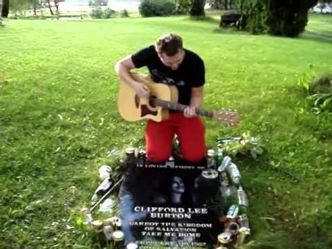 To Live Is To Die (CLIFF BURTON's death place)