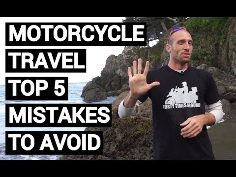 Long Distance Motorcycle Trip Top 5 Mistakes to Avoid