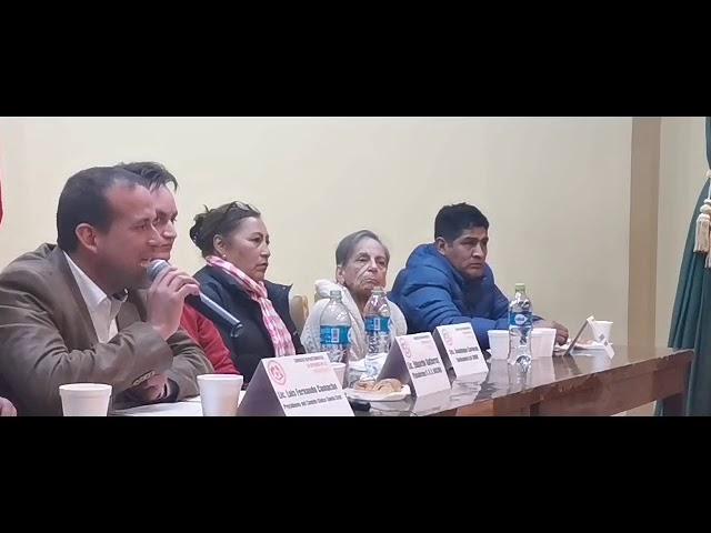 Conversatorio en Oruro